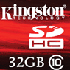 Kingston Digital Ships SDHC Class 10 Card