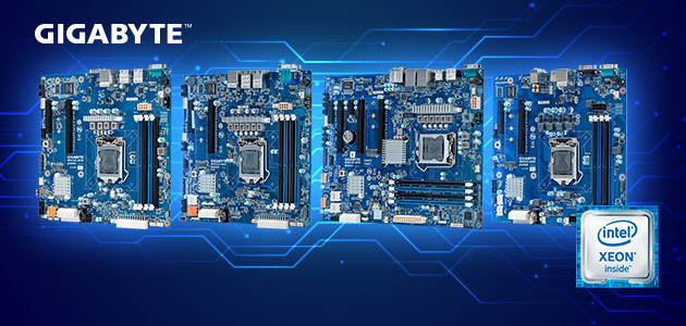 GIGABYTE Server Motherboards Ready for New Intel® Xeon® E-2200 Processor