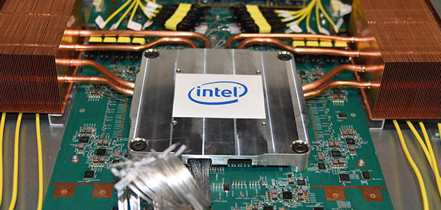 Intel Demonstrates Industry-First Co-Packaged Optics Ethernet Switch